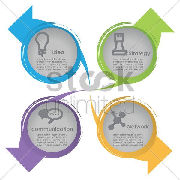 marketing strategy Stock Vector