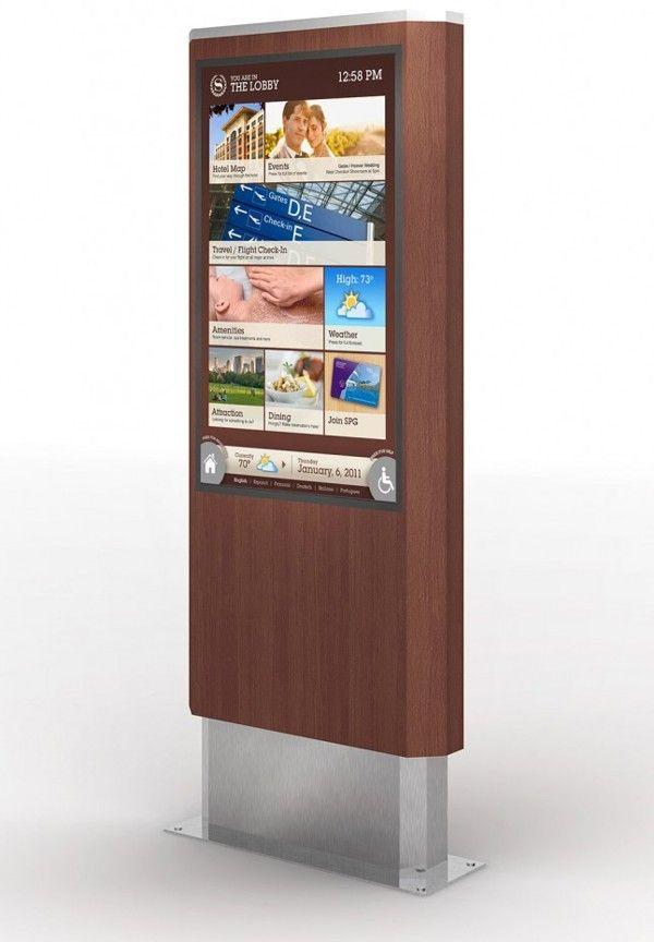 Sheraton Hotels Digital Signage on Behance