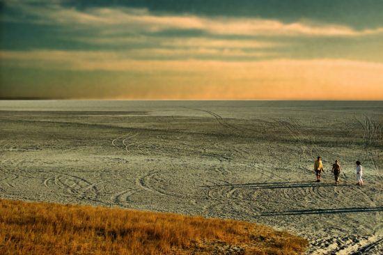 Okavango Delta salt pans, Botswana