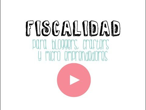 Fiscalidad para mini emprendedores - YouTube