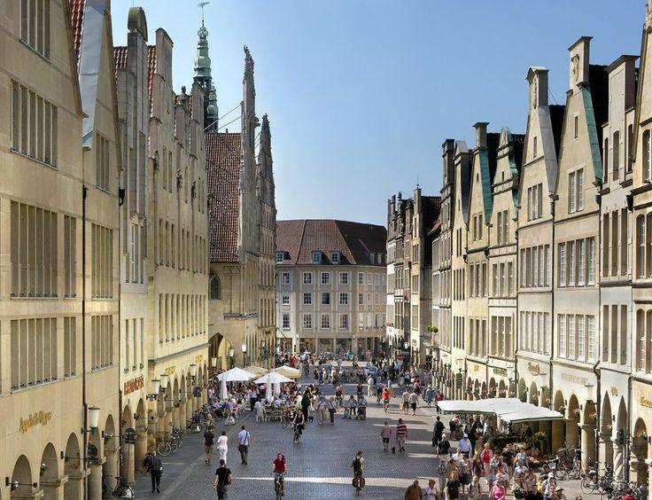 Shoppen am Prinzipalmarkt in Münster, © Münster Marketing / Air-klick