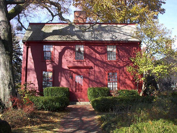 Nathaniel Hawthorne House Museum...Salem, MA.