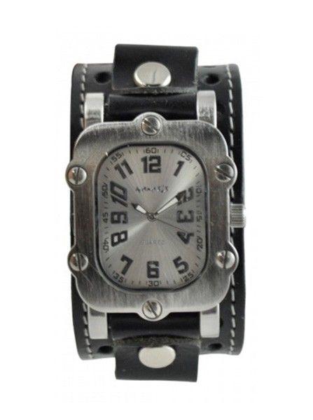 "Men's ""Rugged"" Watch by Nemesis Watch Inc. (Black) #rugged #watch #menswatch #inkedshop #inked"