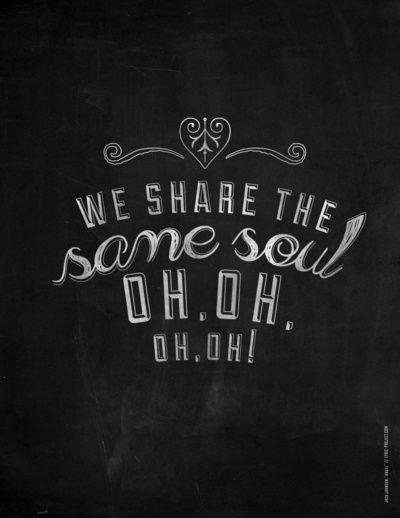 We Share the Same Soul - Jack Johnson Art Print