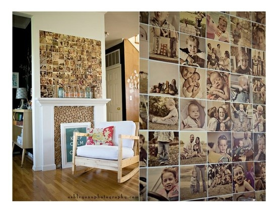 1000 id es sur le th me collage mural de photos de famille sur pinterest mur de famille. Black Bedroom Furniture Sets. Home Design Ideas