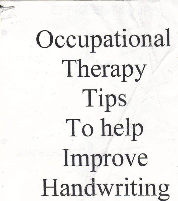 OT sensory diet info.  Visit pinterest.com/arktherapeutic for more #handwriting tips