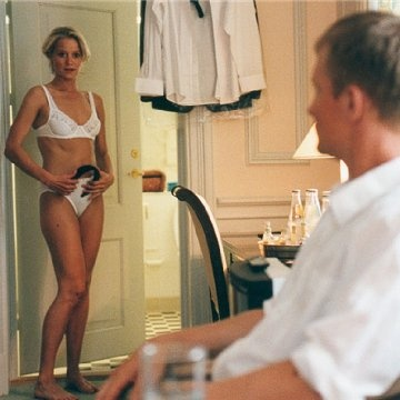 Trine Dyrholm  and Ulrich Thomsen in The Celebration