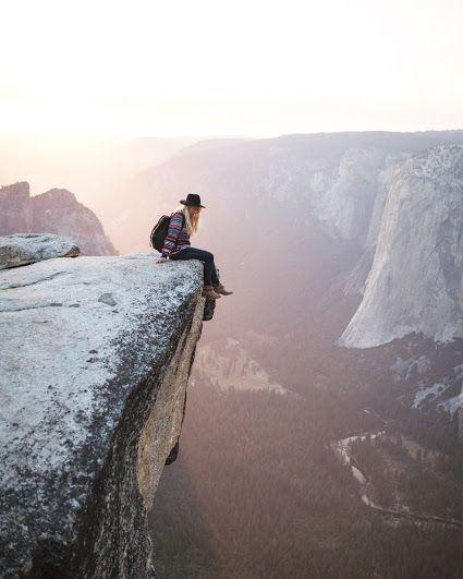 Taft Point, Yosemite National Park, California