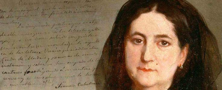 """Fernán Caballero es el seudónimo de la escritora española Cecilia Böhl de Faber, escritora del siglo XIX y famosa, entre otras obras, por su novela """"La gaviota"""""""