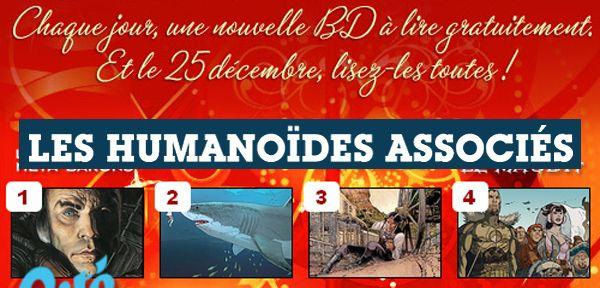 Une BD en lecture gratuite tous les jours jusqu'au 24 décembre via Humanoïdes Associés