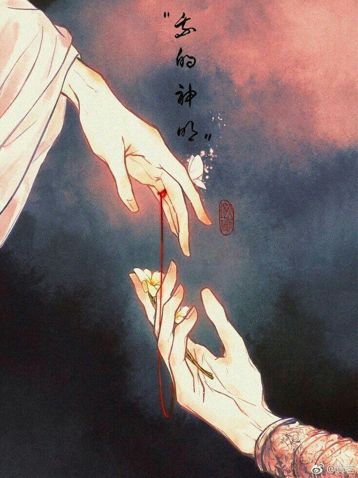Destinado A Un Dios Kookmin Arte Japonés Ilustración Japonesa Arte De China