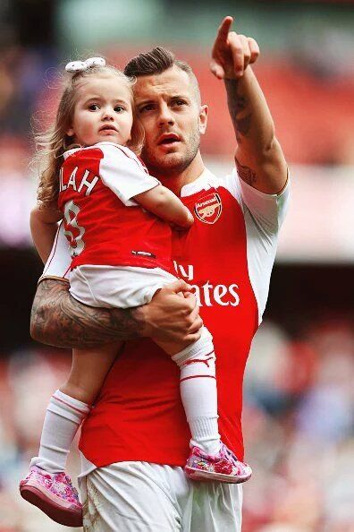Jack Wilshere & Delilah ❤️ London 15th May 2016.#Arsenal