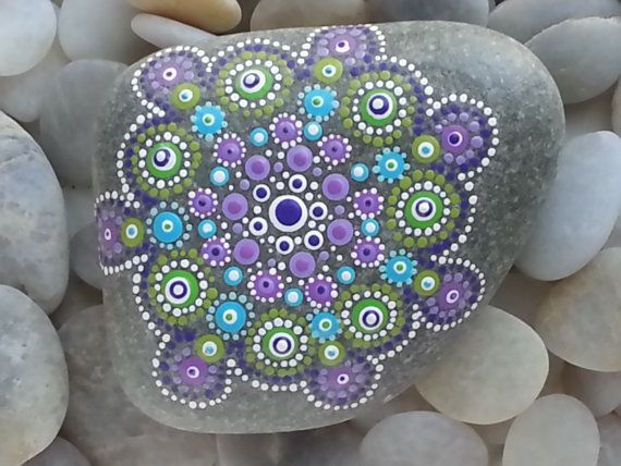 Beach Stones/Painted Stones/Painted Rocks/Beach Decor/Inspirational/Meditation/Decorative Stones