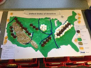 Here's an idea for creating a 3D landforms map.
