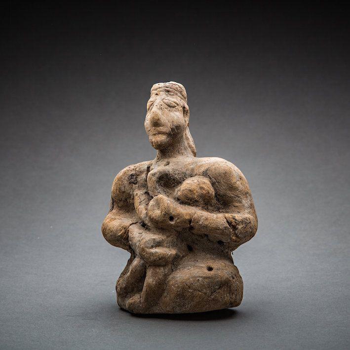 Bactria-Margiana Wooden Maternity Figure - LK.014 Origin: Central Asia Circa: 2500 BC to 1500 BC