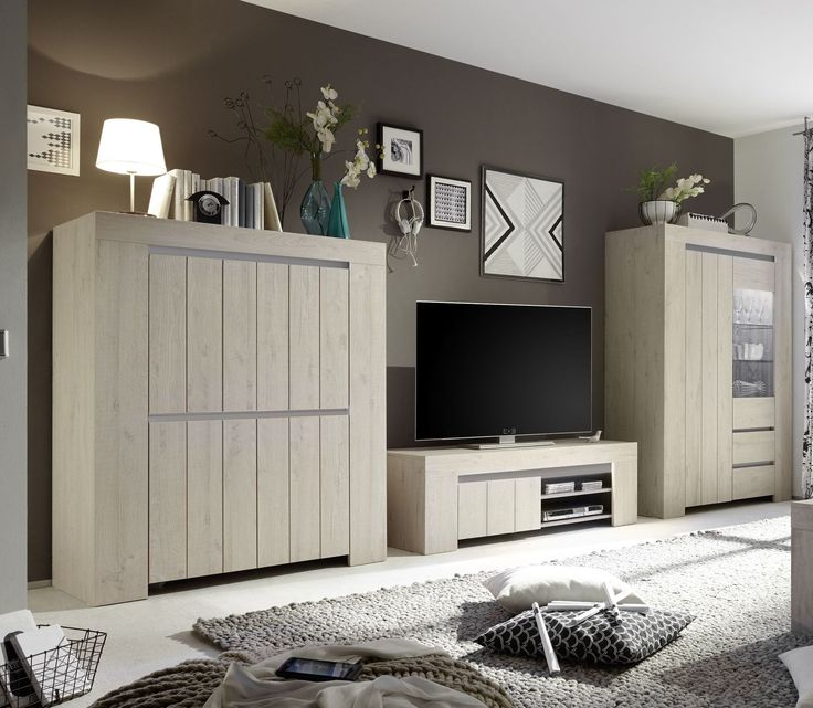 25+ best ideas about wohnwand modern on pinterest   moderne ... - Wohnzimmer Modern Hell