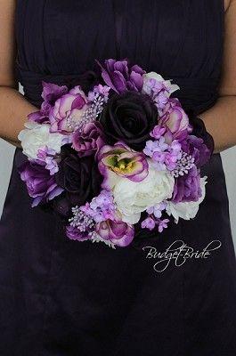 Purple Luxe Bridesmaid
