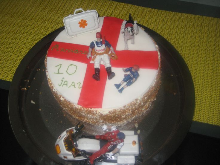 EHBO taart / emercency cake
