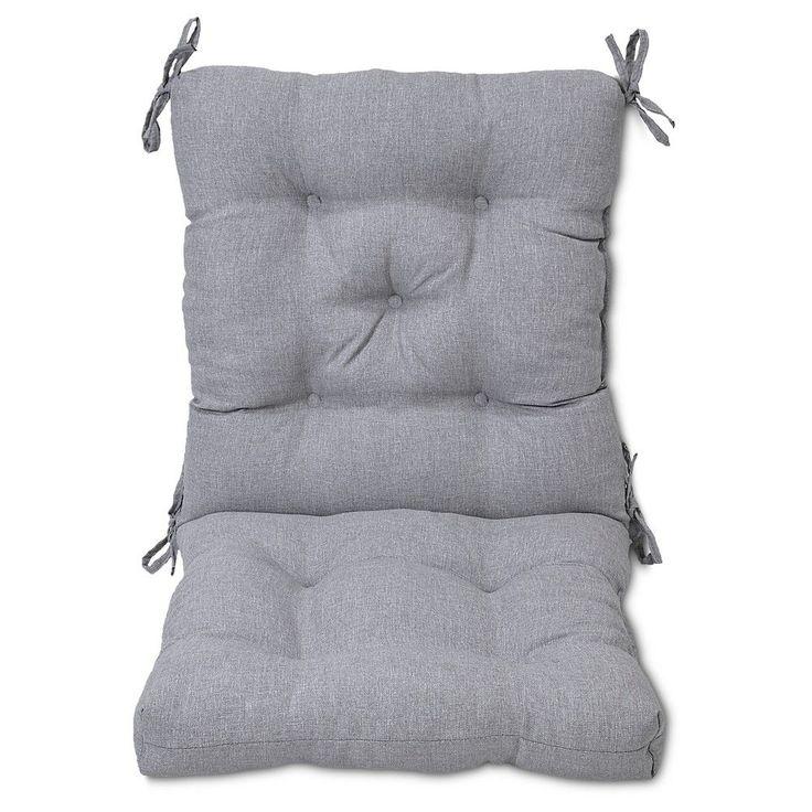 Tufted Chair Cushion - Gray - Threshold, Grey
