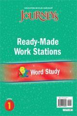 Journeys Ready-Made Word Study Flip Chart Grade 1