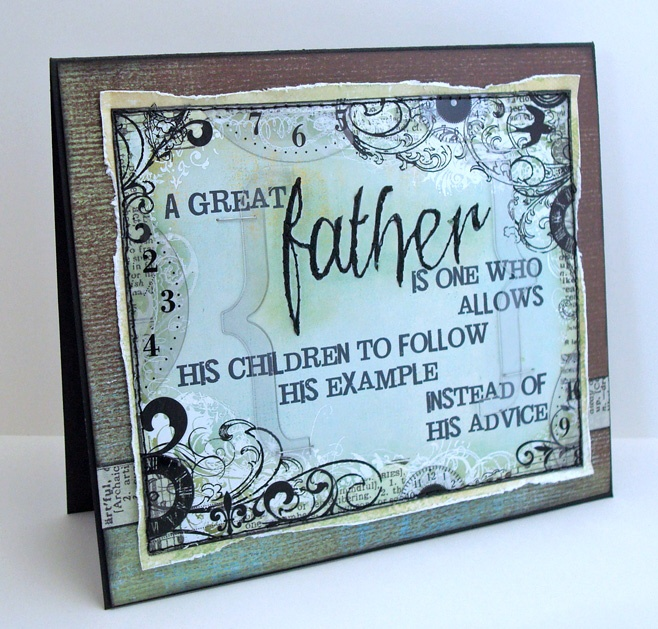 LOVE this Father's Day card by Lauren at ...all the GOOD blog names were taken