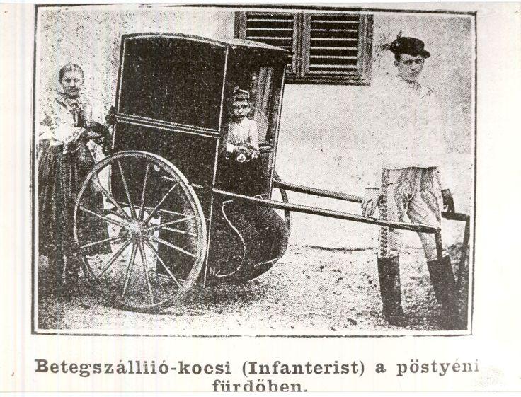 Betegszállító-kocsi  [Korona tér 1.]