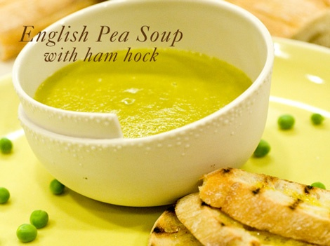 Kicked Up Coconut Split Pea Soup Recipe — Dishmaps