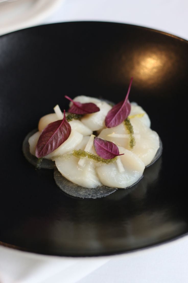 Scallops & Pear - Autumn in Eleonore's Restaurant