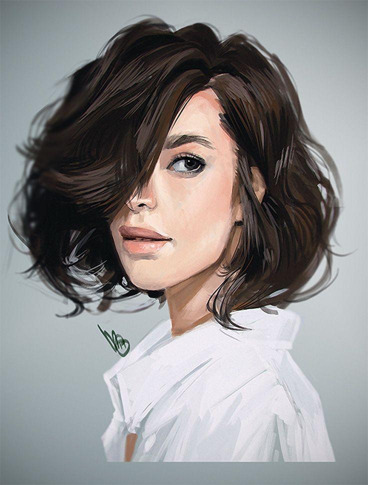 Artist: Mel Milton {contemporary figurative character illustrator beautiful…