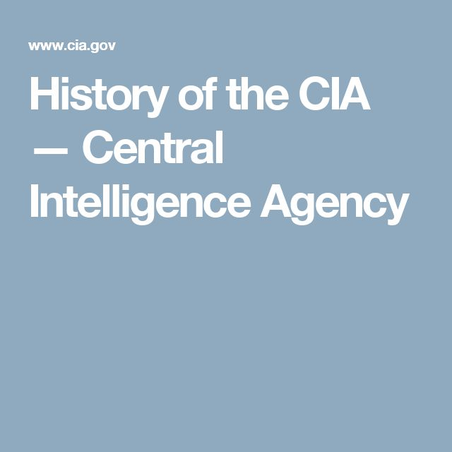 "a history of the central intelligence agency Oss: the secret history of america's first central intelligence agency [richard harris smith] on amazoncom free shipping on qualifying offers ""the best book about america's first modern."
