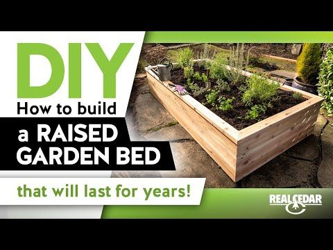 Free Raised Garden Bed Elevated Planter Project Plan Building