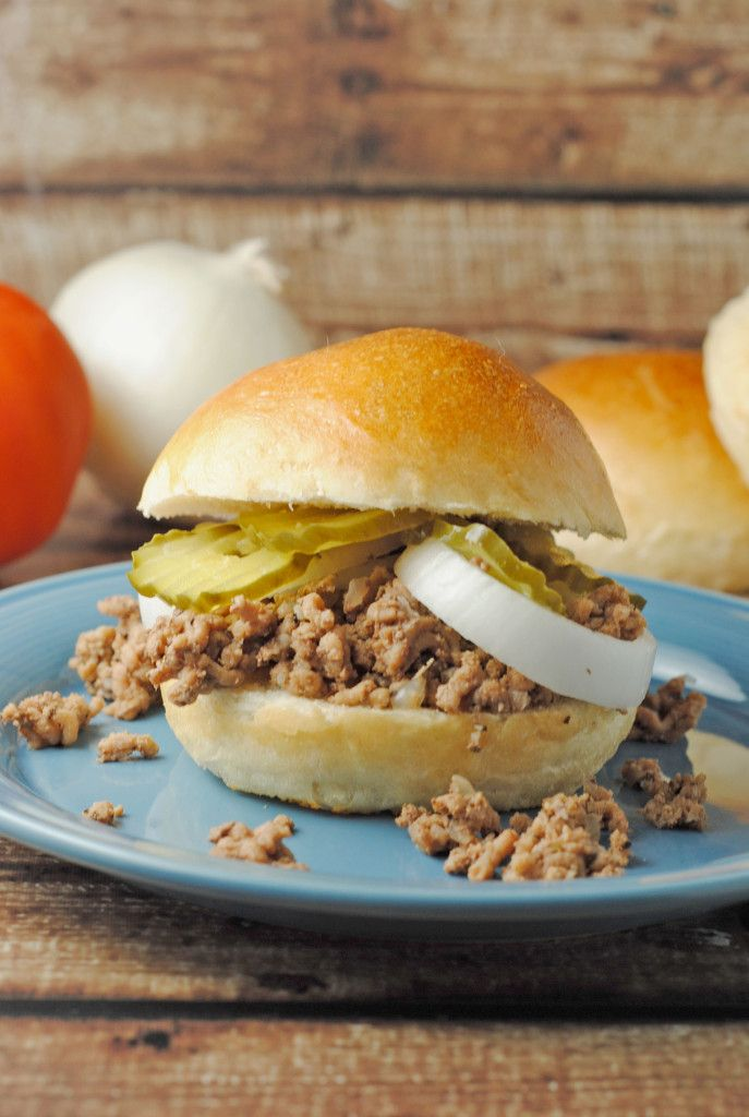 Crockpot Loose Meat Sandwiches