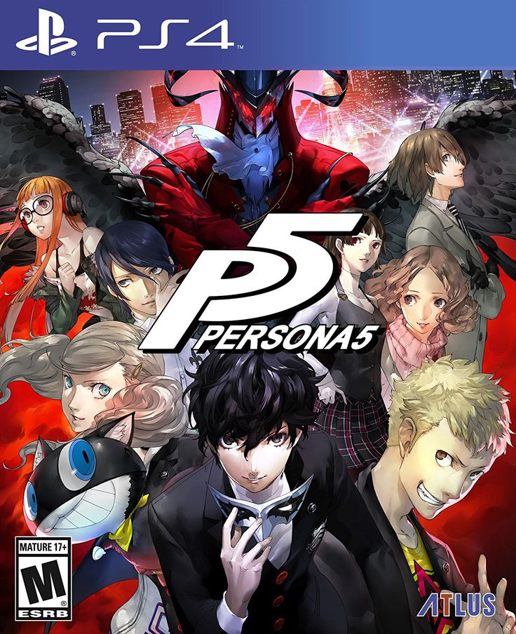 Amazon.com: Persona 5 - Standard Edition - PlayStation 4: Sega of America Inc: Video Games