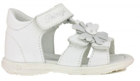 Primigi PBT7050 White T-bar Sandals