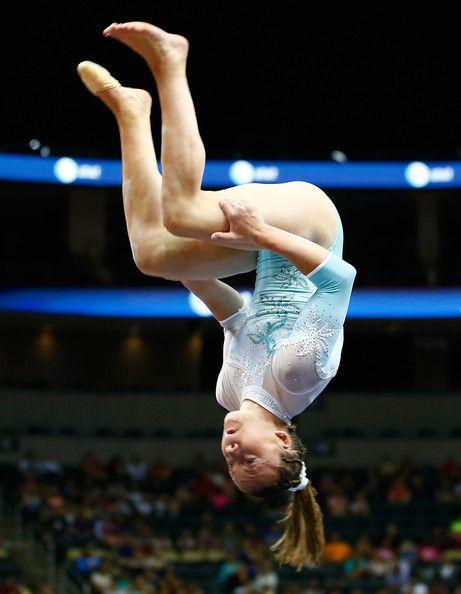 Jazmyn Foberg in P&G Gymnastics Championships