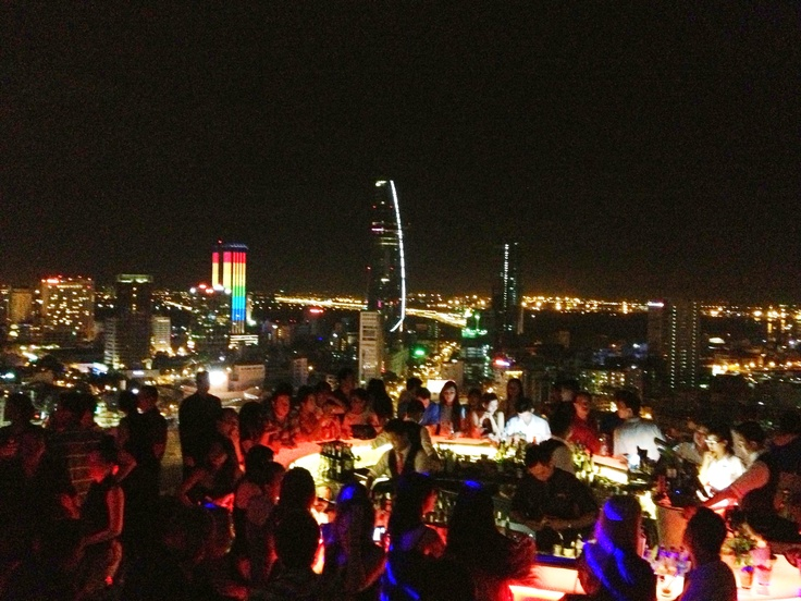 Saturday night in Saigon