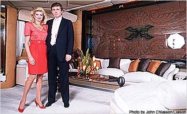 "Trump purchased the Sultan of Brunei Adnan Khashoggi's yacht, ""Nabila,"" for 30 million dollars and renamed it ""The Princess Trump."""