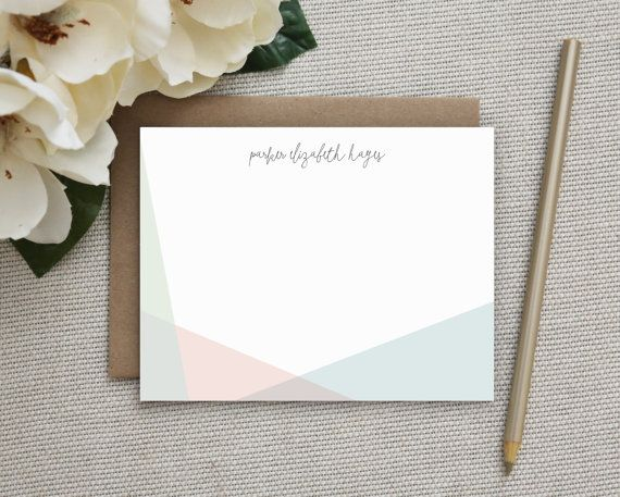 Personalized Stationery. Personalized Notecard Set. Personalized Stationary. Note Cards. Personalized. Stationery. Sets. Thank You. Prism.