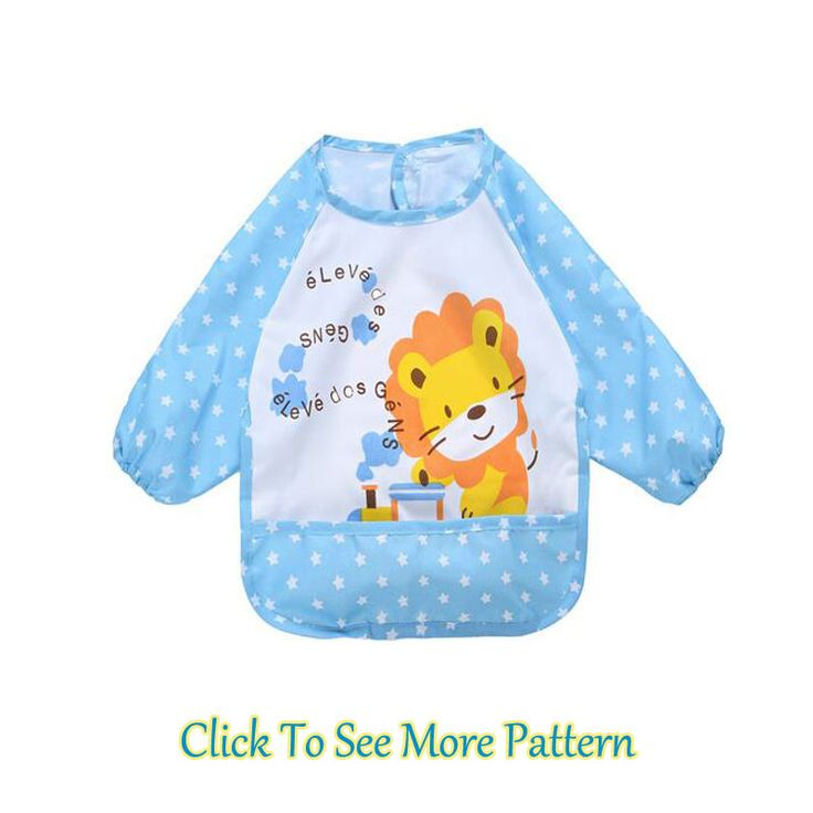 >> Click to Buy << 1-3 Year Oilcloth Waterproof for Chilren Anti-Wear Baby Bibs Long Sleeve Nursing Apron Cute Baby Feeding Cover Animal Eat Burp #Affiliate