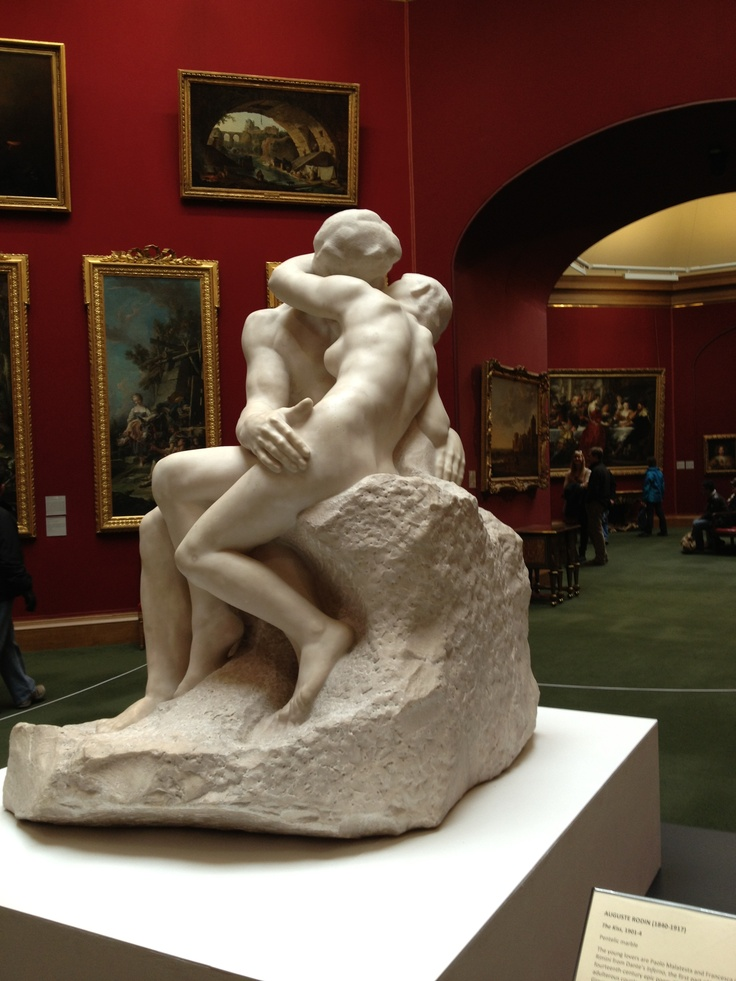 Favourite sculpture - Rodin's 'The Kiss' currently in The National Gallery in Edinburgh  #makesmehappy @Blanca Prado Stuff UK uk