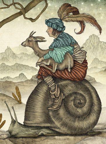 Julian De Narvaez   ILLUSTRATION | The Green Fairy Book