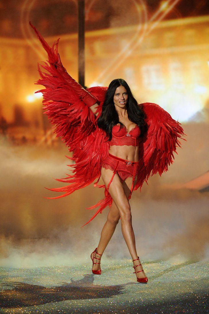 Pin for Later: The Victoria's Secret Angels Will Shake It Off to Taylor Swift on the Catwalk —and That's Not All VS Angel Adriana Lima This year will mark Adriana Lima's third time wearing a Victoria's Secret Fantasy Bra.