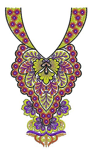 19 Best Neck Embroidery Designs Images On Pinterest Embroidery