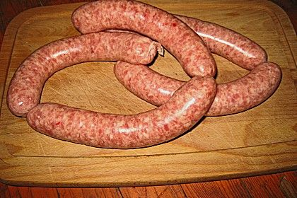 Bratwurst (Pfälzer grob) Mehr