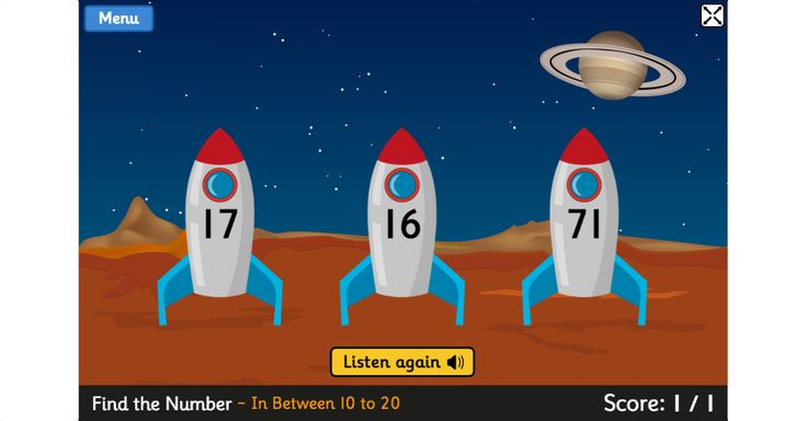 Blast Off is a mental maths game for 5 to 8 year olds which can help children to learn two-digit numbers, and addition and subtraction skills. It covers different vocabulary such as more than, less than, count on and count back. Tablet friendly.