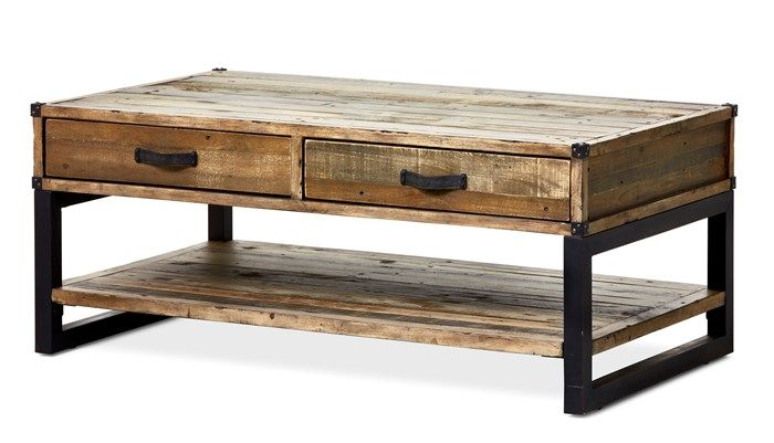 Produktbild - Woodenforge, Soffbord, L 120 cm