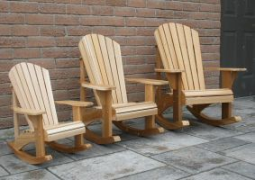 Child Size Adirondack / Muskoka Chair Plans...The Barley Harvest Woodworking Plans