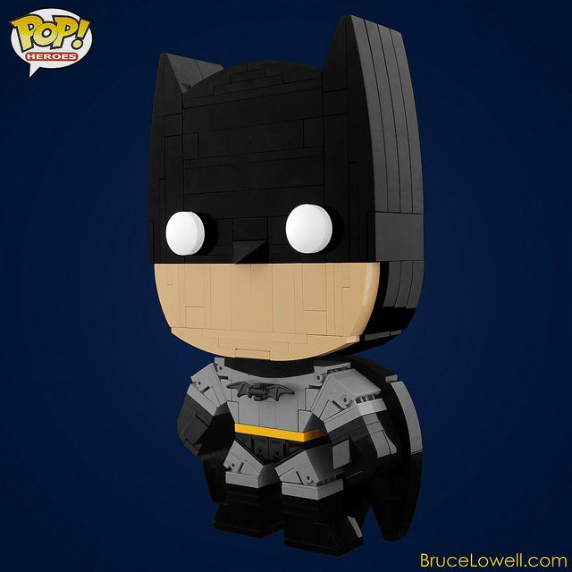 LEGO Batman (POP! Hero) by bruceywan, via Flickr