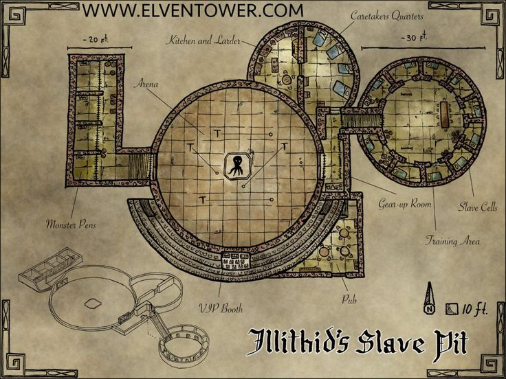 Map 41 – Illithid's Slave Pit