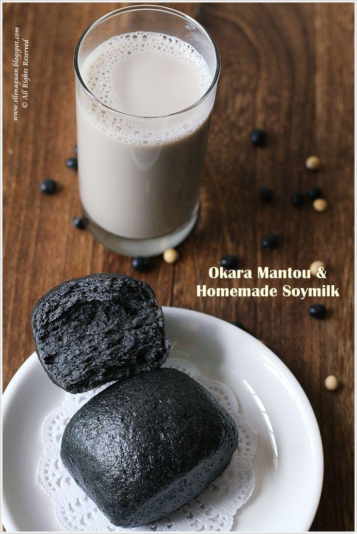Okara Charcoal Mantou